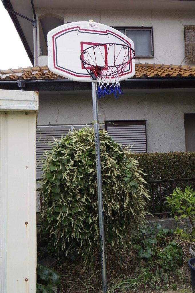 バスケットゴールDIY