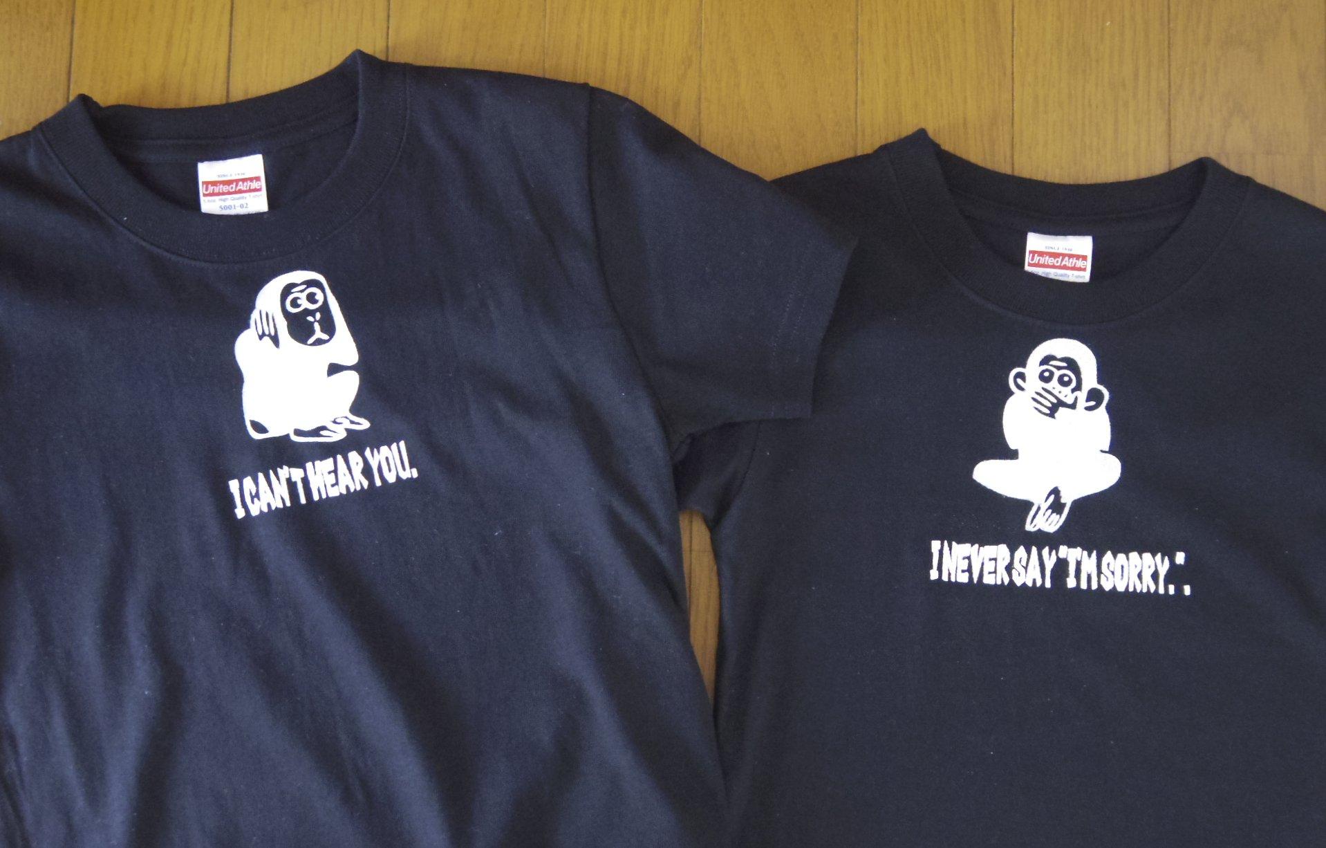 アクリル絵の具でオリジナルTシャツ作り